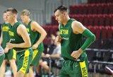 Krepšininkai rytinę treniruotę surengė viešbutyje, aklimatizacija vyksta pagal planą