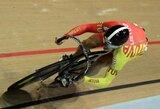 Kylanti Lietuvos dviračių treko žvaigždė išvyksta į pasaulio jaunių čempionatą