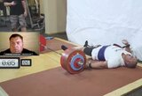 Ž.Savickas patvirtino naują pasaulio rekordą – estas 6 kartus atkėlė 400 kg štangą