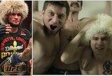 """Rusijos MMA kovotojas sukūrė įžeidžiančią dainą apie Ch.Nurmagomedovą: """"Galiu atsakyti už kiekvieną žodį"""""""