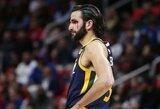 """R.Rubio nuskriaudę """"Suns"""" žaidėjai sulaukė bausmių"""