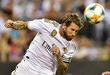 """S.Ramosas nusivylęs """"Real"""" žaidimu su """"Atletico"""": """"Galime pralaimėti, bet tik ne taip"""""""