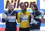 Tik rekordininkę į priekį praleidusi R.Meilutytė tapo pasaulio vicečempione!