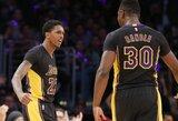 """""""Lakers"""" be K.Bryanto pasiekė revanšą prieš """"76ers"""""""