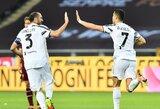 """C.Ronaldo 79-ąją minutę išplėšė """"Juventus"""" lygiąsias su """"Torino"""""""