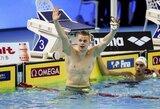 Pasaulio plaukimo čempionato prognozės: medaliai žadami tik vienam lietuviui