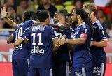"""""""Ligue 1"""" čempionato startas paženklintas užtikrinta """"Lyon"""" pergale prieš """"Monaco"""" futbolininkus"""