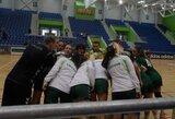 Lietuvos jaunių merginų rankinio rinktinė pergale baigė Europos čempionato atranką