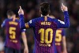 """Ispanijoje – L.Messi realizavo vieną baudinį iš dviejų, tačiau """"Barcelona"""" iškovojo pergalę"""