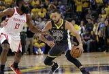 """""""Warriors"""" ataka tapo NBA dienos epizodu"""