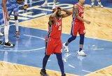 """""""76ers"""" dėl koronaviruso gali netekti septynių krepšininkų"""