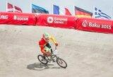 V.Rimšaitė ir G.Pabijanskas buvo per žingsnį nuo vietos pasaulio BMX dviračių čempionato pusfinalyje