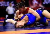 D.Domikaitytė Europos imtynių čempionate liko be pergalių