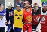 Pasaulio ledo ritulio čempionato ketvirtfinalio poros: pristatymas ir prognozės