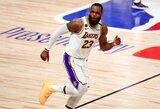 L.Jamesas ketvirtą kartą tapo finalų MVP