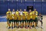 Paskelbtas išplėstinis Lietuvos futsal rinktinės kandidatų sąrašas Europos čempionato atrankai