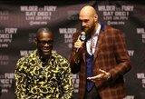 """T.Fury paneigė D.Wilderio žodžius apie pasirašytą kontraktą: """"Jis nevykėlis"""""""