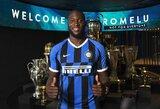 """Prie """"Inter"""" prisijungęs R.Lukaku perėmė M.Icardi marškinėlių numerį"""