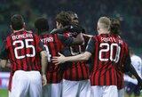 """""""Milan"""" nepasinaudojo kiekybine persvara ir sužaidė lygiosiomis, """"Parma"""" įveikė """"Napoli"""" klubą"""