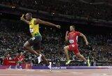 Jamaikos sprinteriai Londone pagerino naują pasaulio rekordą