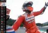 """Paskutinę akimirką iš M.Marquezo pergalę atėmęs A.Dovizioso: """"Tai buvo beprotiškiausias lenkimas mano gyvenime"""""""