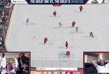 A.Ovečkino ir W.Gretzky dvikovos surinko 40 tūkst. JAV dolerių kovai su koronavirusu