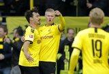 """E.B.Haalandas tęsia įspūdingą startą Vokietijoje: prie """"Borussia"""" pergalės pridėjo dar 2 įvarčius"""