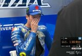 """J.Mirui dar teks pavargti dėl čempiono titulo: """"MotoGP"""" lyderis kvalifikacijoje – vos 12-as"""