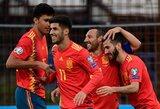 EURO2020 atranka: Ispanija išvykoje nepaliko šansų Farerų saloms
