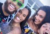 Grįžęs į Europą brazilas Neymaras pasinėrė į vakarėlių liūną