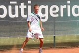 J.Tverijonas ir D.Šakinis sėkmingai įveikė vyrų teniso turnyro Estijoje kvalifikaciją