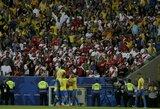 """Šeimininkai triumfuoja: Brazilija po 12 metų pertraukos tapo """"Copa America"""" turnyro nugalėtoja"""