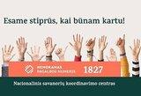 """Vilniaus """"Rytas"""" prisijungė prie pilietinės iniciatyvos """"Stiprūs Kartu"""""""