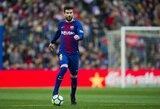 """G.Pique nėra patenkintas """"Barcelona"""" sezonu: """"Jaučiame kartėlį, kadangi galime geriau"""""""