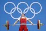 Sunkiaatletė X.Li pagerino olimpinį rekordą ir iškovojo aukso medalį