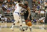 """""""Clippers"""" nesulaikė dominavusio J.Hardeno"""