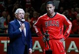 """D.Rose'o agentas: """"Jis labai norėjo laimėti titulą su """"Bulls"""""""