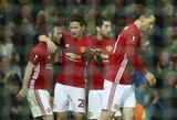"""G.Mažeika egzaminą išlaikė, o """"Man United"""" žengė į Europos lygos ketvirtfinalį"""