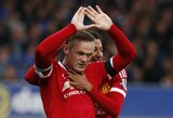 """""""Manchester United"""" surengs W.Rooney pagerbimo rungtynes"""