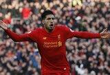 """""""Liverpool"""" klubas parodė charakterį"""
