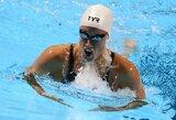 R.M.Pedersen pusfinalyje pagerino pasaulio rekordą 200 m plaukime krūtine