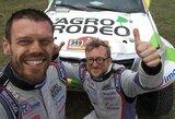 """Pirmą kartą Dakaro finišą pasiekęs V.Žala: """"Atidavėm daug jėgų"""""""