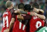 """LFF stadione """"Sevilla"""" sutriuškino """"Žalgirį"""" ir žengė į paskutinį Europos lygos atrankos etapą"""