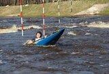 Lietuvos baidarių slalomo meistrai nesėkmingai pradėjo Europos jaunių ir jaunimo čempionatą