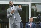 K.Bryanto gandai nesiliauja: LeBronas tiki NBA legendos sugrįžimu