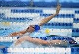 D.Rapšys Europos jaunių plaukimo čempionate liko 7-as