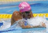 G.Titenis atsisakė plaukti paskutinėje rungtyje, J.Jefimova per vakarą susirinko du aukso medalius