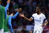 """G.Kondogbia: """"Inter"""" yra visiškas chaosas. Jeigu galėčiau, pats išpirkčiau savo sutartį"""""""