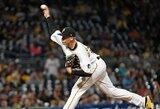 """Į MLB sugrįžęs D.Neverauskas išgelbėjo """"Pirates"""" iš sunkios padėties"""