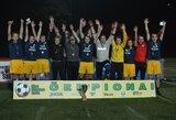 Paaiškėjo stipriausia Lietuvos mėgėjų mažojo futbolo 7x7 komanda